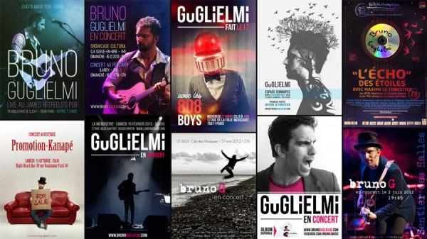 Affiches concert Guglielmi
