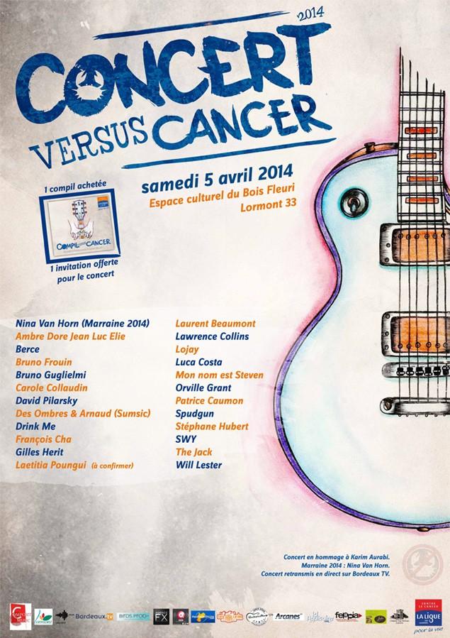 Concert versus Cancer 2014