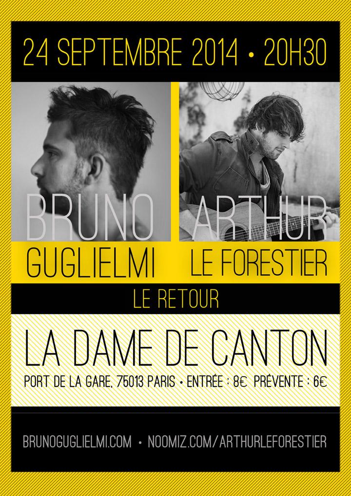 Concert Guglielmi / Le Forestier