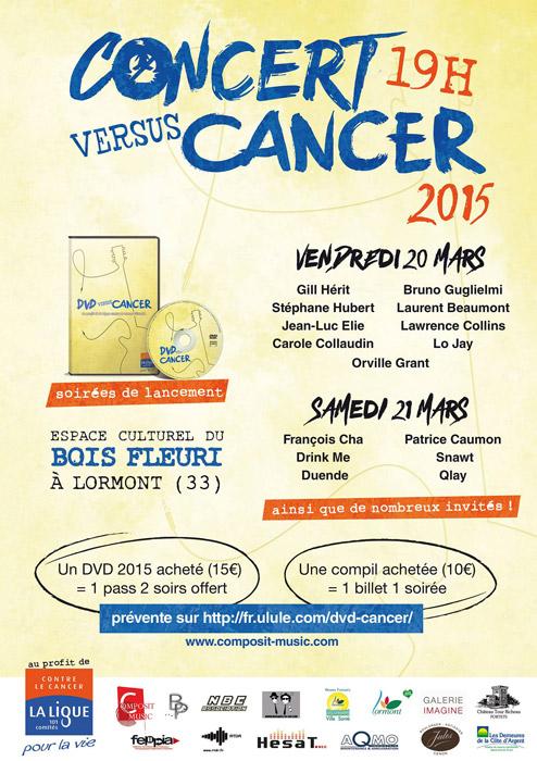 CONCERT versus CANCER 2015-s