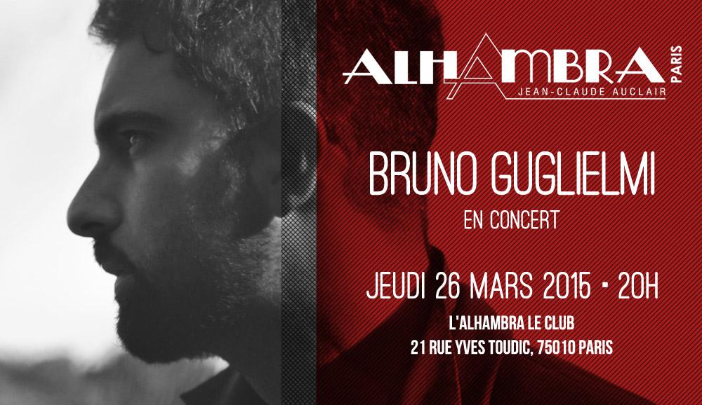 Bruno Guglielmi - concert à l'Alhambra
