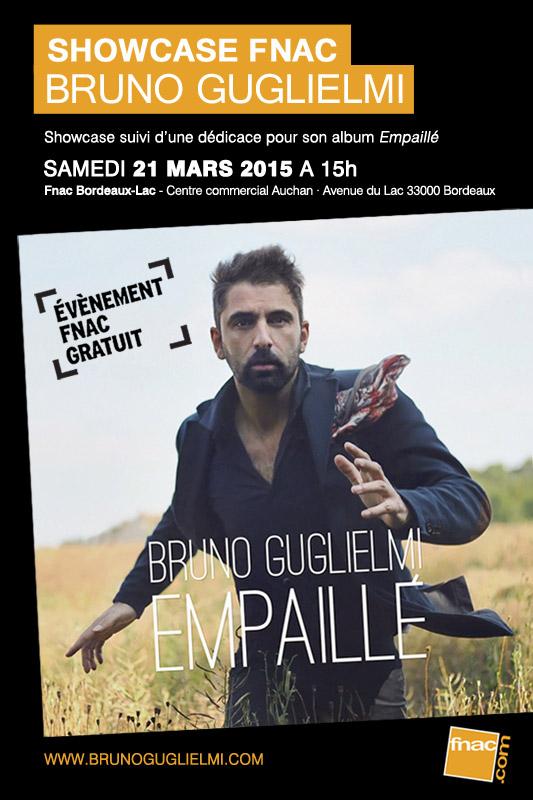 Showcase Fnac Bruno Guglielmi