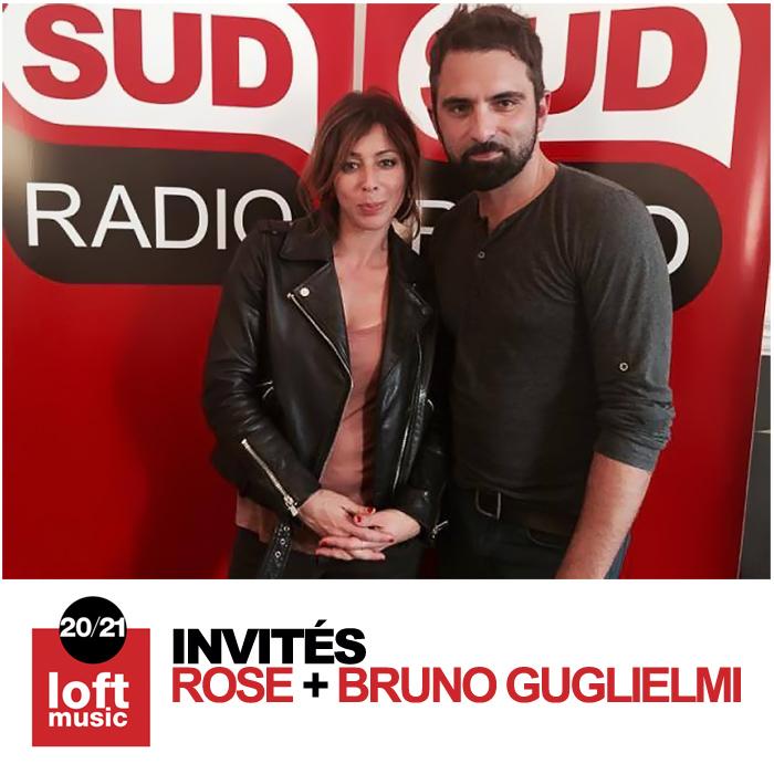 Rose avec Bruno Guglielmi