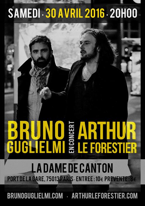 Concert Bruno Guglielmi / Arthur Le Forestier